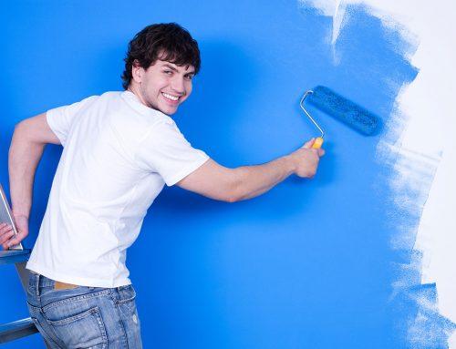 Malowanie ścian jest proste! Poradnik jak malować krok po kroku.